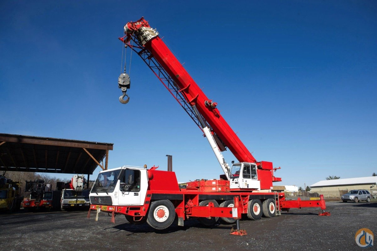 Krupp Grove 110 US Ton All Terrain Crane Crane for Sale in Baltimore Maryland on CraneNetwork.com
