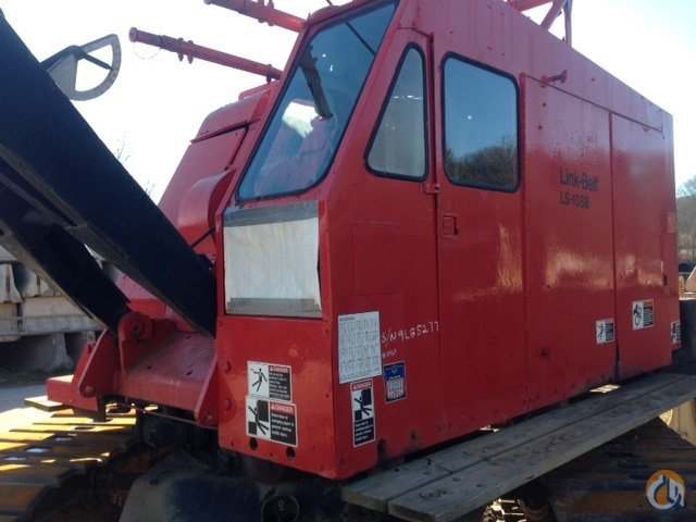 Link Belt LS-108B Crane for Sale in Charlotte North Carolina on CraneNetworkcom