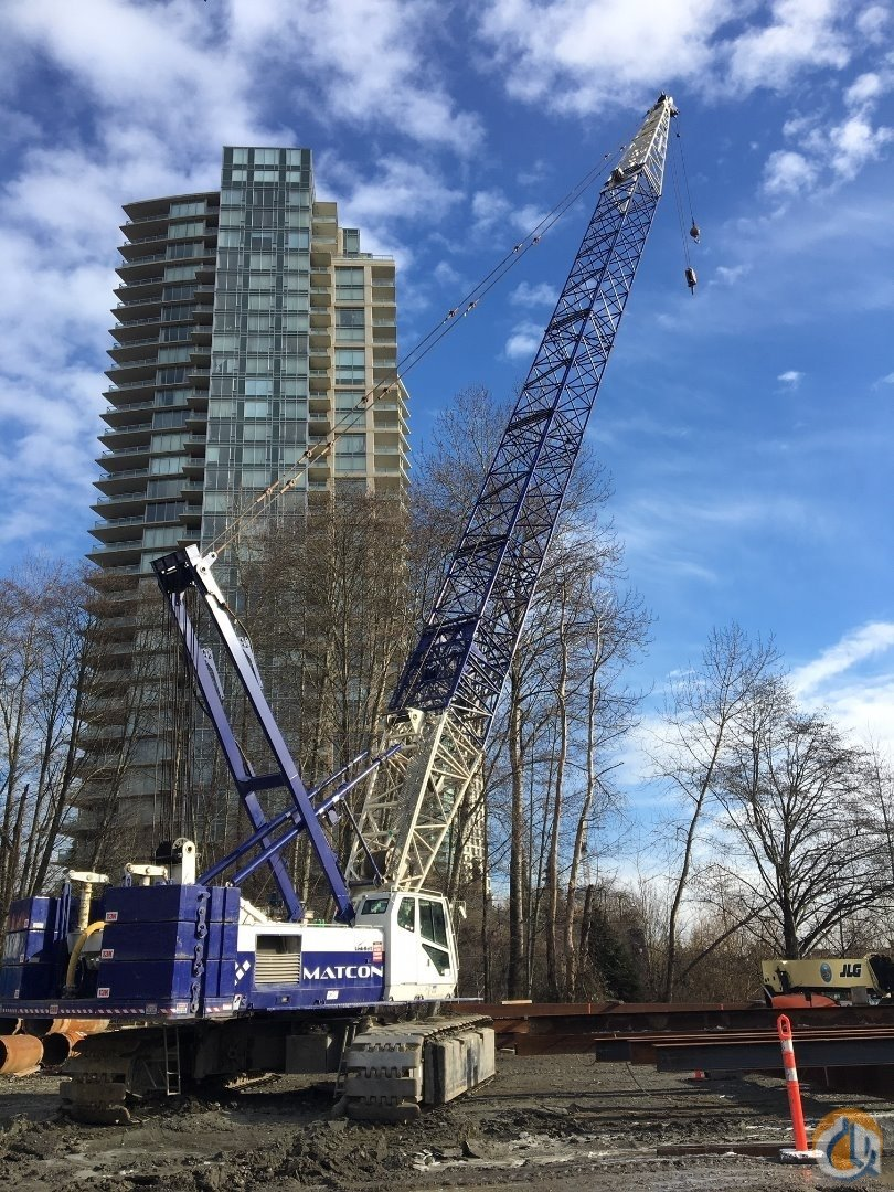 2007 Link Belt LS238H Crane for Sale in Vancouver British Columbia on CraneNetwork.com
