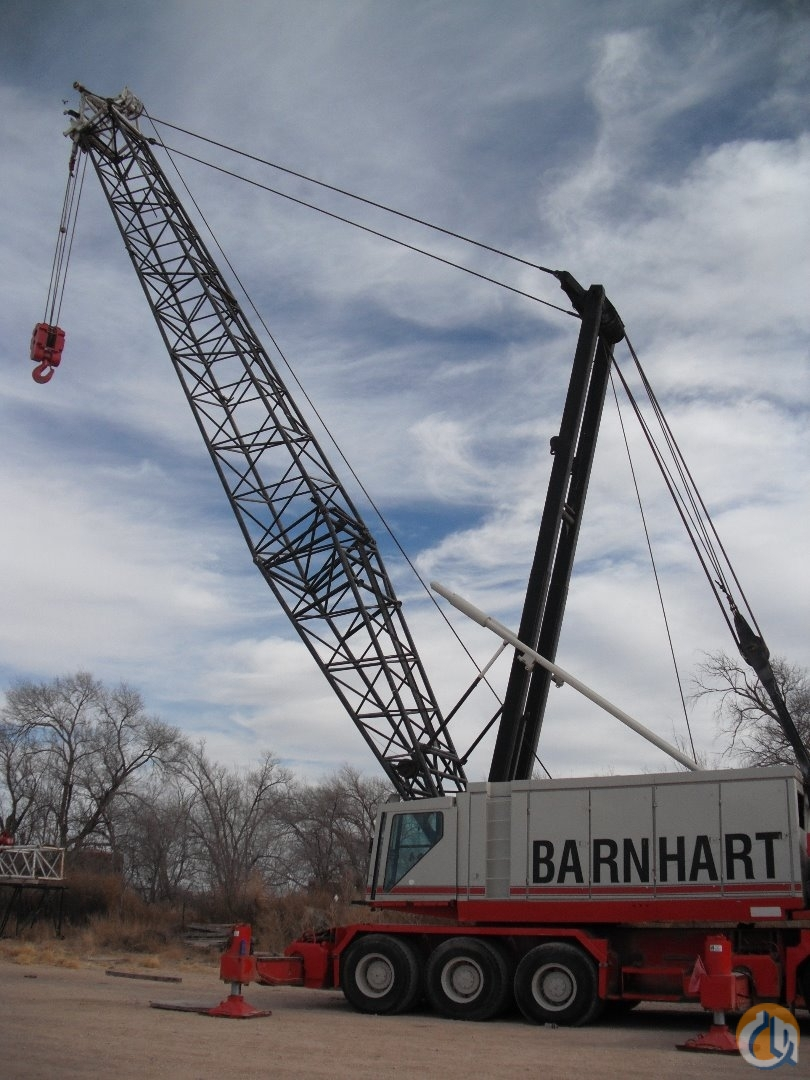 Link-Belt HC-258 Crane for Sale in Oklahoma City Oklahoma on CraneNetworkcom