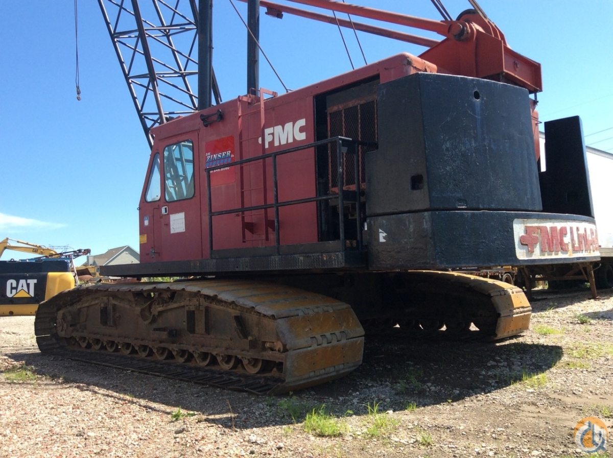 1976 Link-Belt LS338 Crane for Sale in Cedar Rapids Iowa on CraneNetwork.com