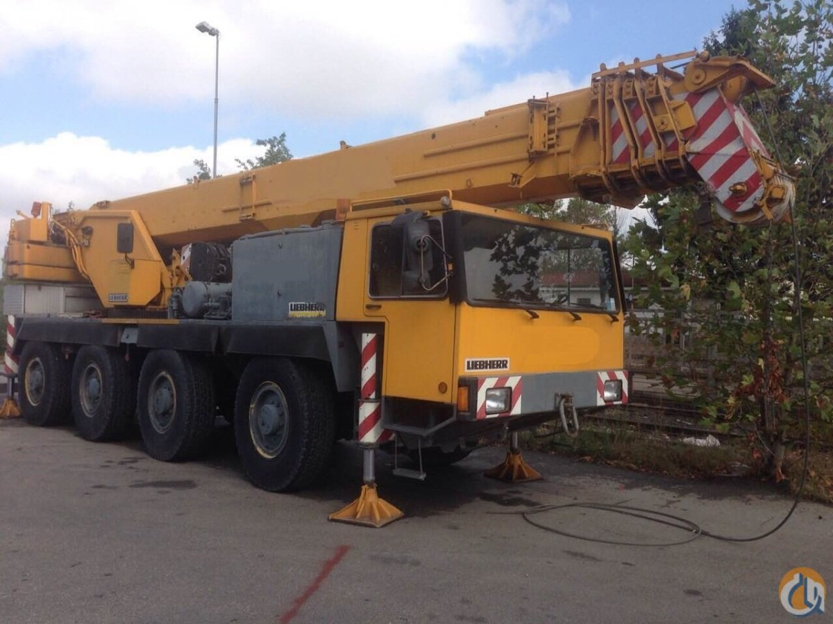 LIEBHERR LTM1050 Crane for Sale on CraneNetwork.com