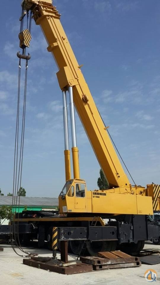 Sold 1985   LIEBHEER LT11401 ALL TERRAIN CRANE 140 TON Crane for  on CraneNetwork.com