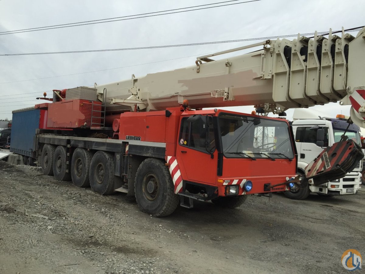 LIEBHERR LTM1150 Crane for Sale on CraneNetworkcom