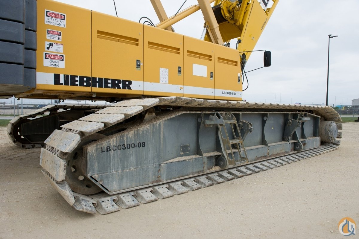 LIEBHERR LR1280 300 TON CRANE WITH LUFFING JIB Crane for Sale in Houston Texas on CraneNetwork.com