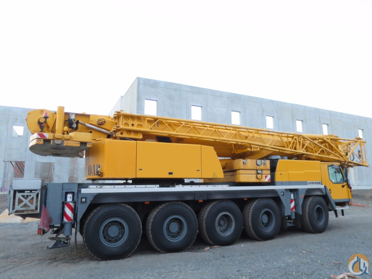 HYDRAULIC OFF-SETABLE JIB 205 TIRES DOLLY PREP PACKAGE WELL OPTIONED Crane for Sale on CraneNetworkcom