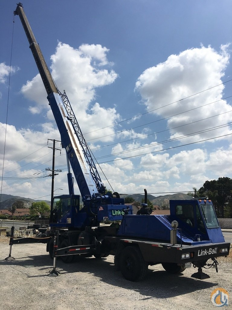 1988 Link-Belt HTC835 Hydraulic Truck Crane for Sale on CraneNetworkcom