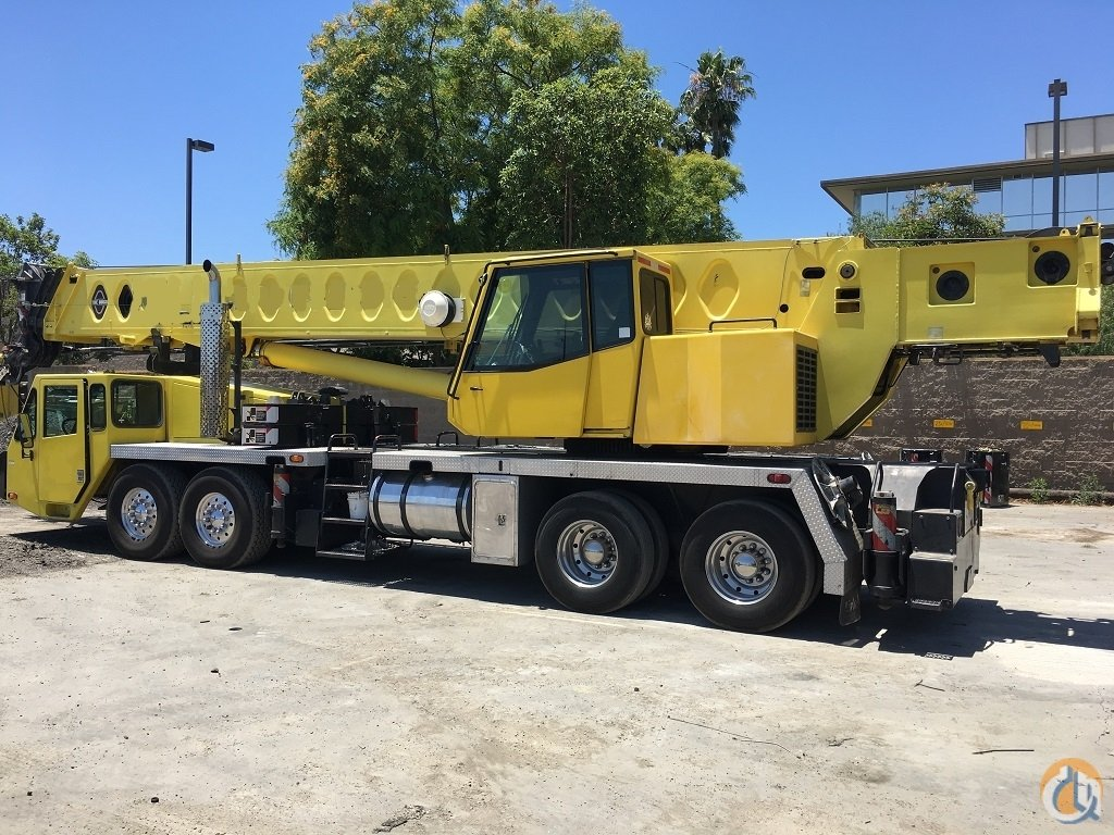 1997 Link-Belt HTC-8670 Hydraulic Truck Crane for Sale on CraneNetwork.com