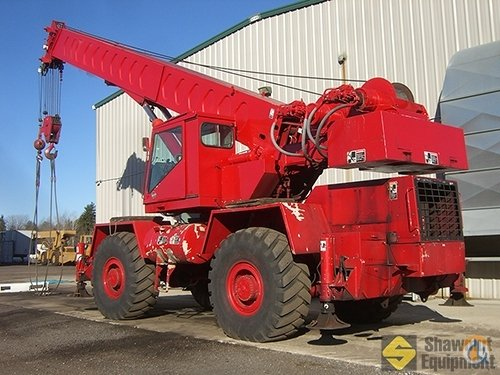 1984 Link-Belt HSP-8040 Crane for Sale in Easton Massachusetts on CraneNetworkcom