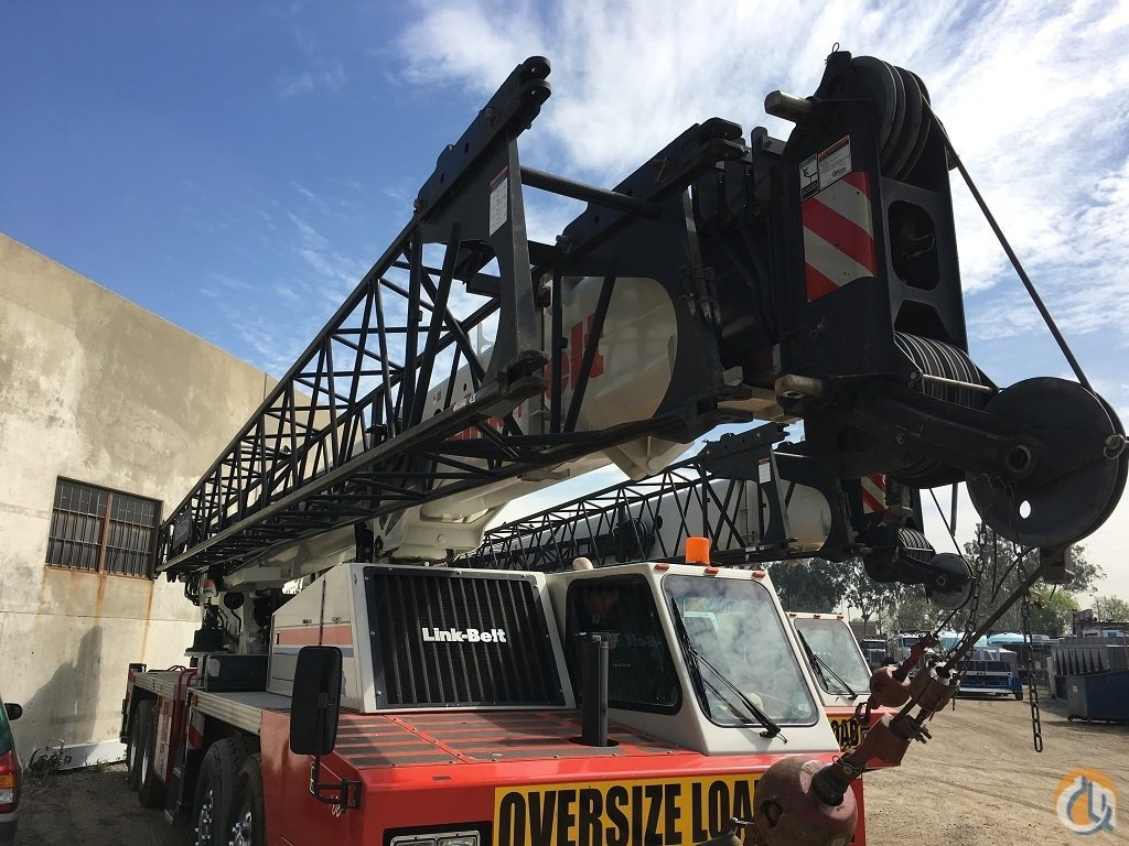 2013 Link-Belt HTC86100 Hydraulic Truck Crane for Sale on CraneNetwork.com