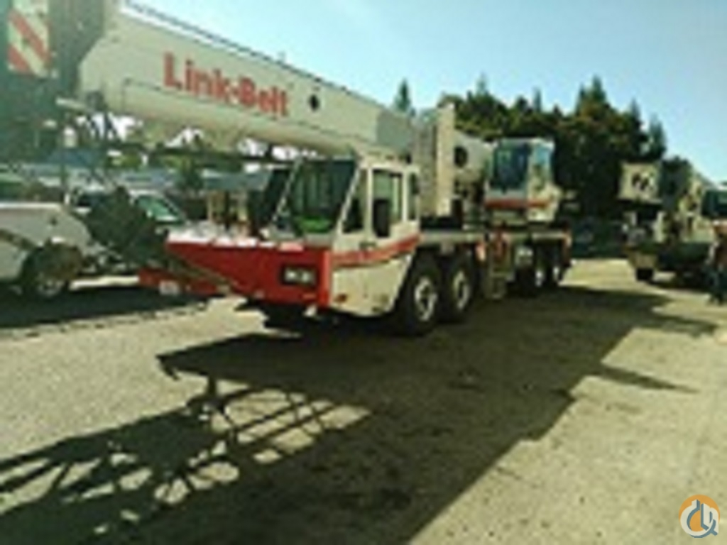2009 Link-Belt HTC-8675 SII Hydraulic Truck Crane for Sale in Central California on CraneNetwork.com
