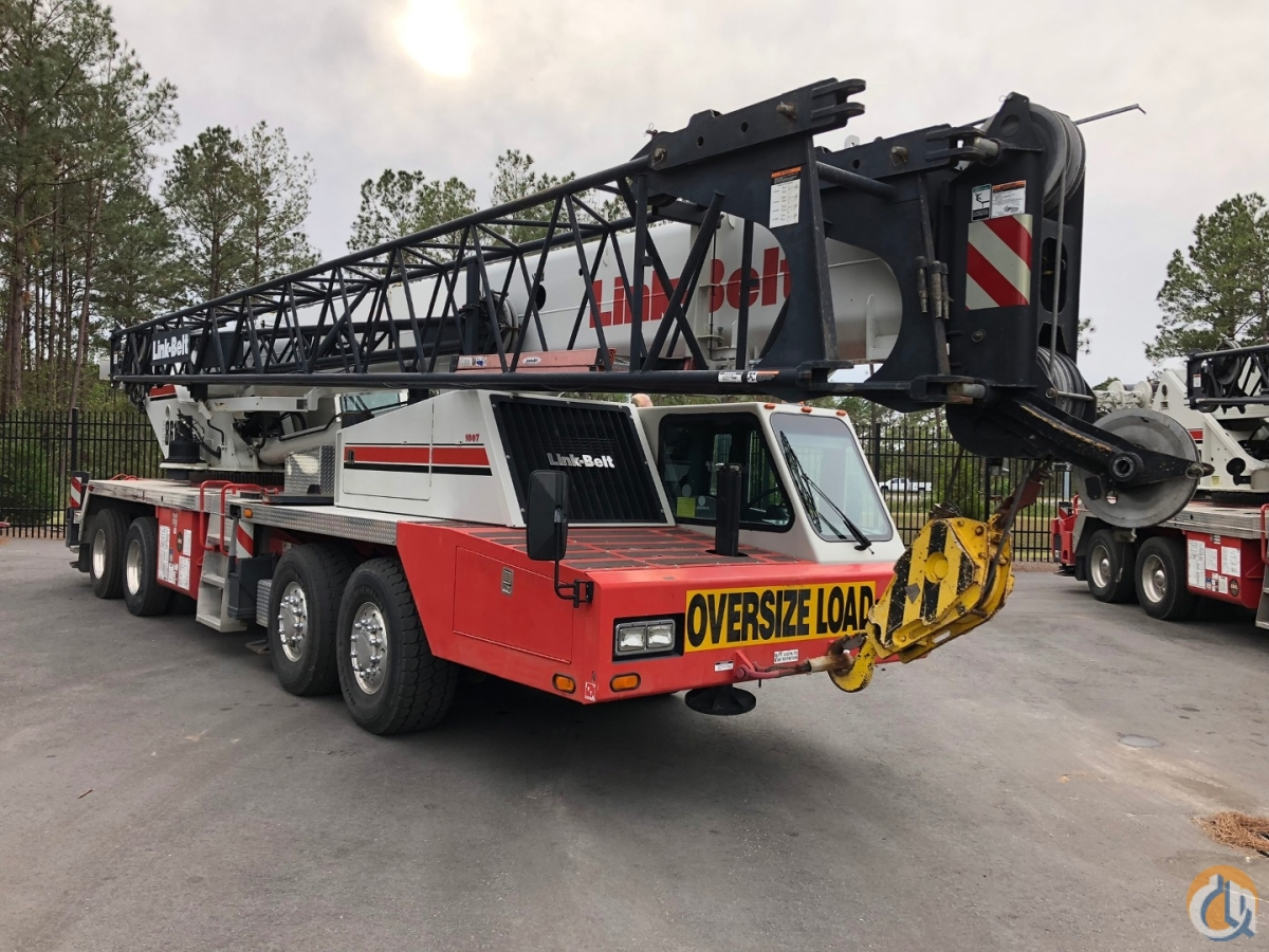 2013 LINK-BELT HTC-86100 Crane for Sale in Norfolk Virginia on CraneNetwork.com