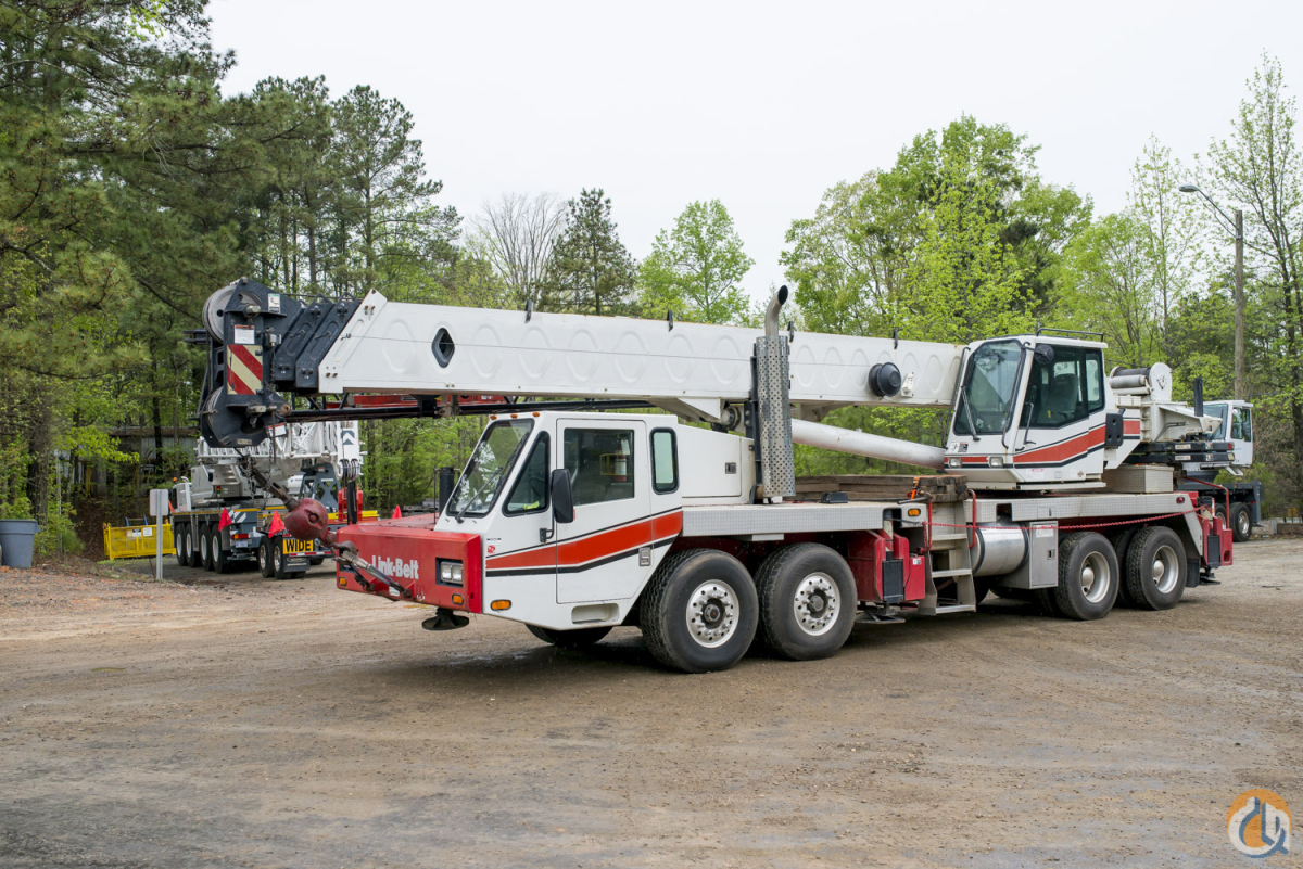 Series II Model with Stronger Chart More Counterweights Crane for Sale in Atlanta Georgia on CraneNetwork.com