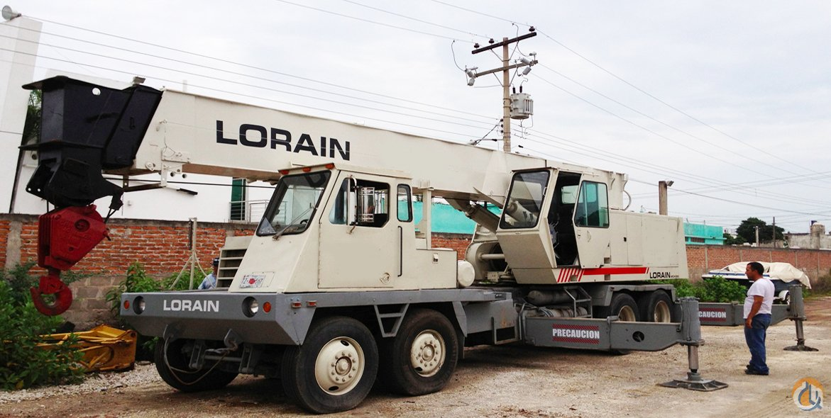 1980 Lorain MCH350 35 Ton CBJ534 Hydraulic Truck Crane Crane for Sale on CraneNetwork.com