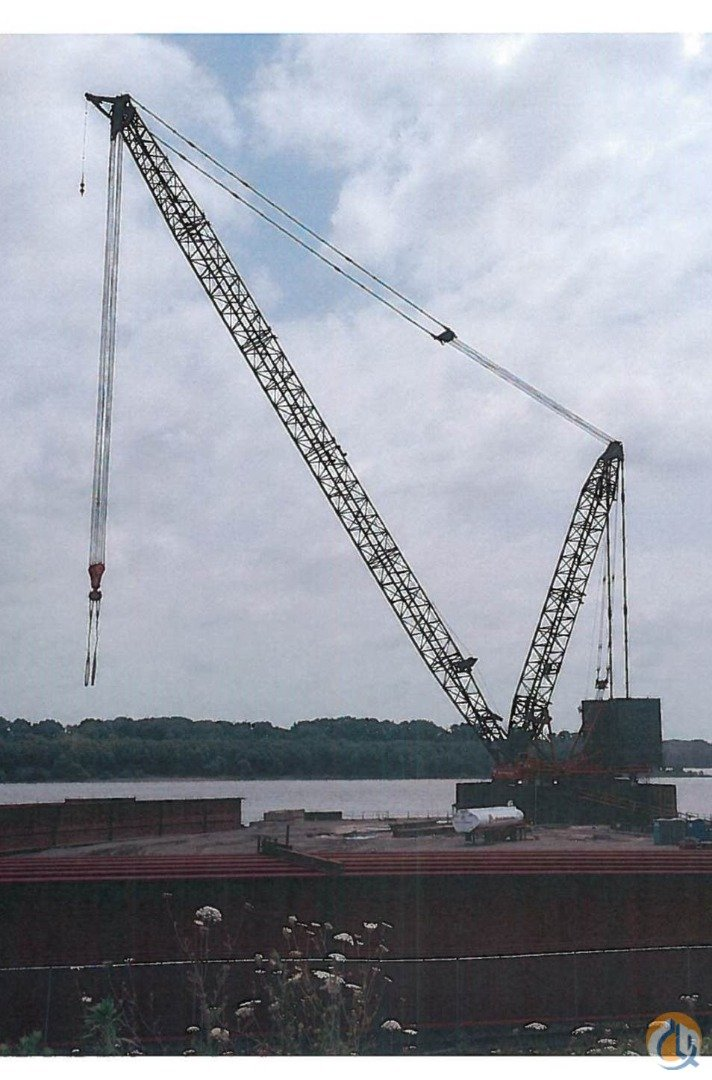 Manitowoc M-1200 Ringer Crane complete with M-250 crawler crane Crane for Sale in St. Louis Missouri on CraneNetwork.com