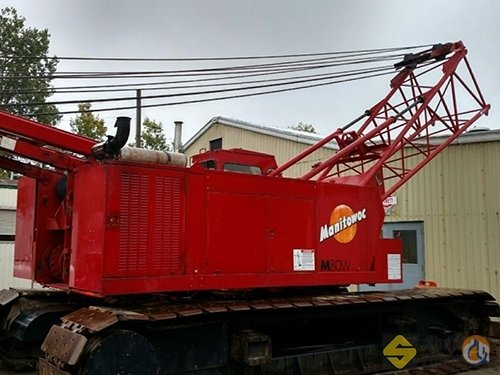 1992 Manitowoc M80W Crane for Sale in Easton Massachusetts on CraneNetwork.com