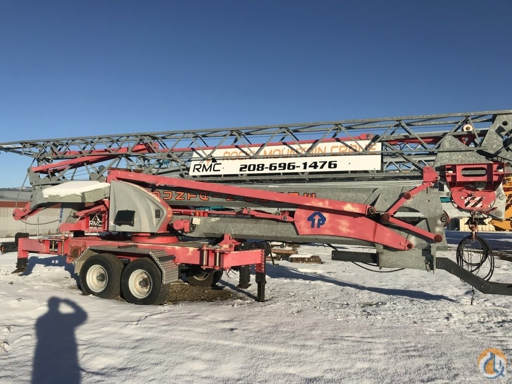 2005 Potain IGO MA13 Crane for Sale in McCall Idaho on CraneNetwork.com