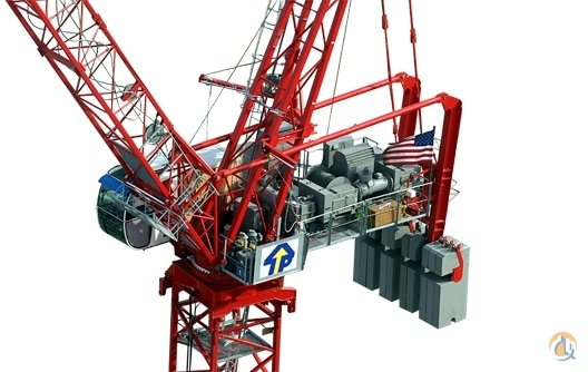 2008 Potain MR 615 TOWER CRANE BRAND NEW Crane for Sale in Houston Texas on CraneNetworkcom