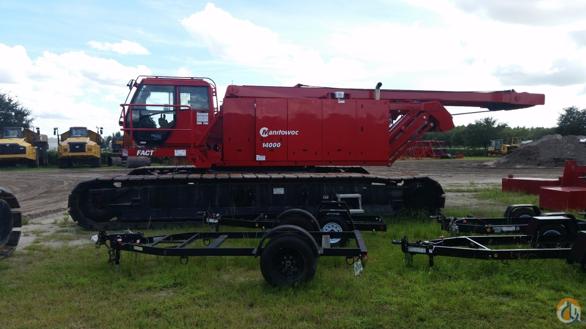 2016 MANITOWOC 14000 T4 Crane for Sale in St. Augustine Florida on CraneNetwork.com