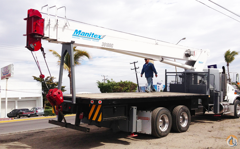 2001 Manitex 30100C 30 Ton CBJ535 Boom Truck Crane Crane for Sale on CraneNetwork.com