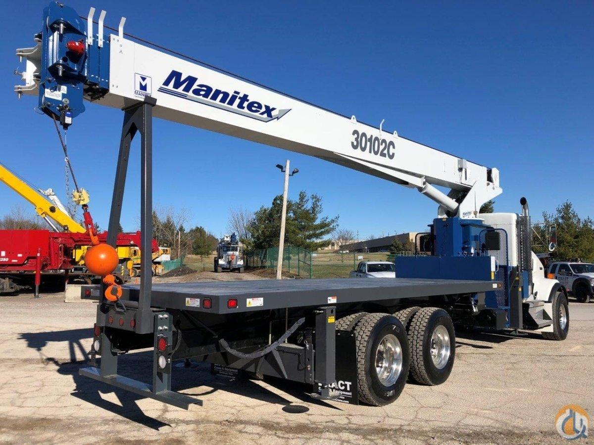 NEW 2019 Peterbilt 348 with NEW Manitex 30102C Crane for Sale in Solon Ohio on CraneNetwork.com