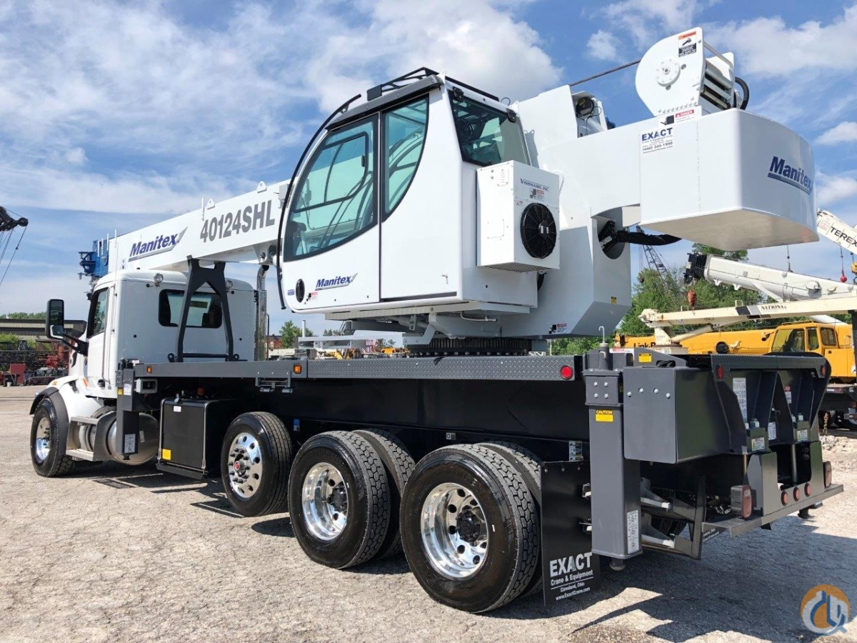 NEW 2019 Manitex 40124SHL on 2020 Peterbilt 567 Crane for Sale in Solon Ohio on CraneNetwork.com