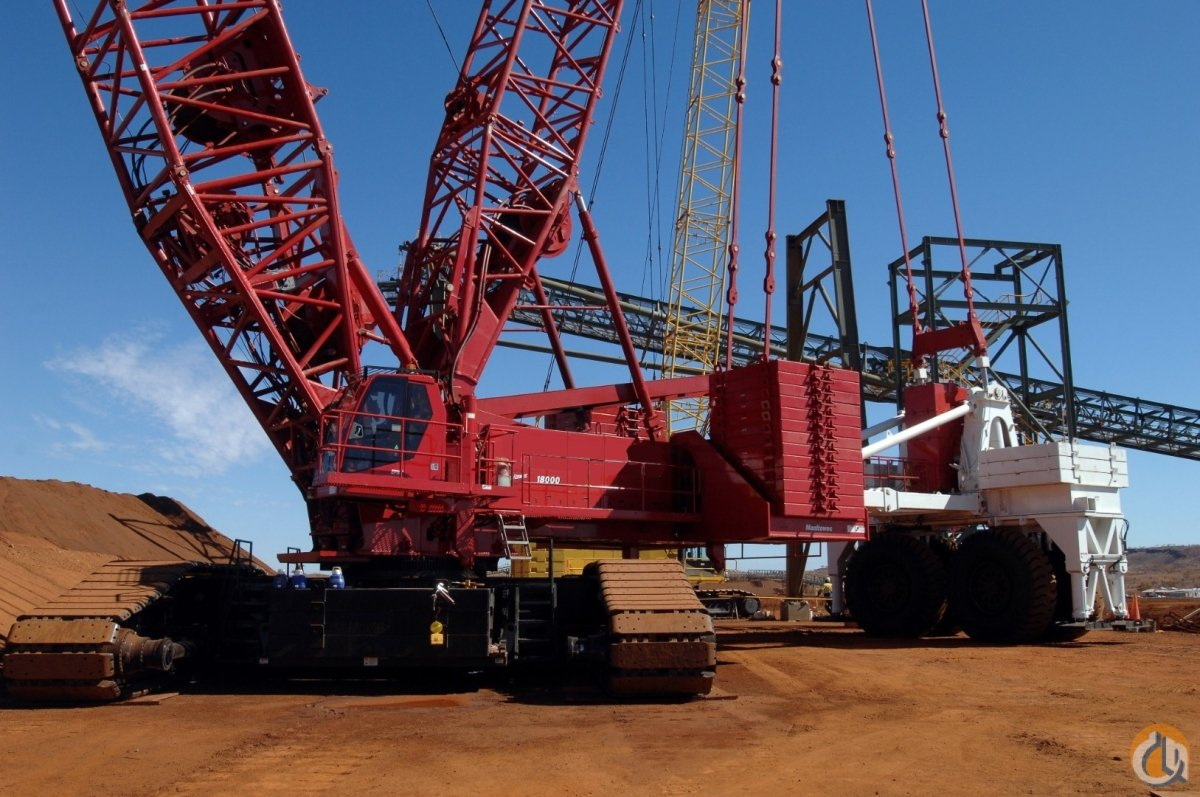 MANITOWOC 18000 WITH MAX-ER AND LUFFING JIB Crane for Sale on CraneNetwork.com