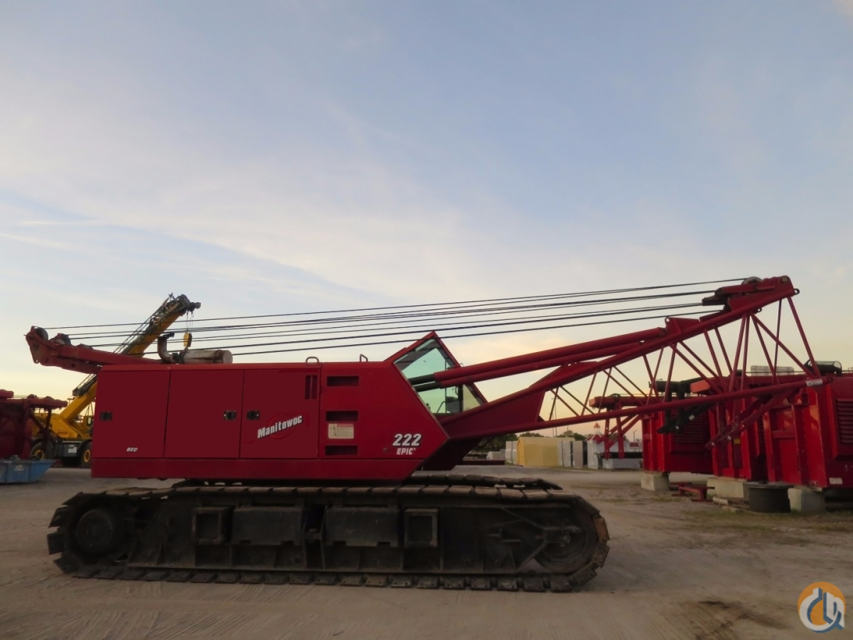 MANITOWOC 222 SERIES B Crane for Sale on CraneNetwork.com