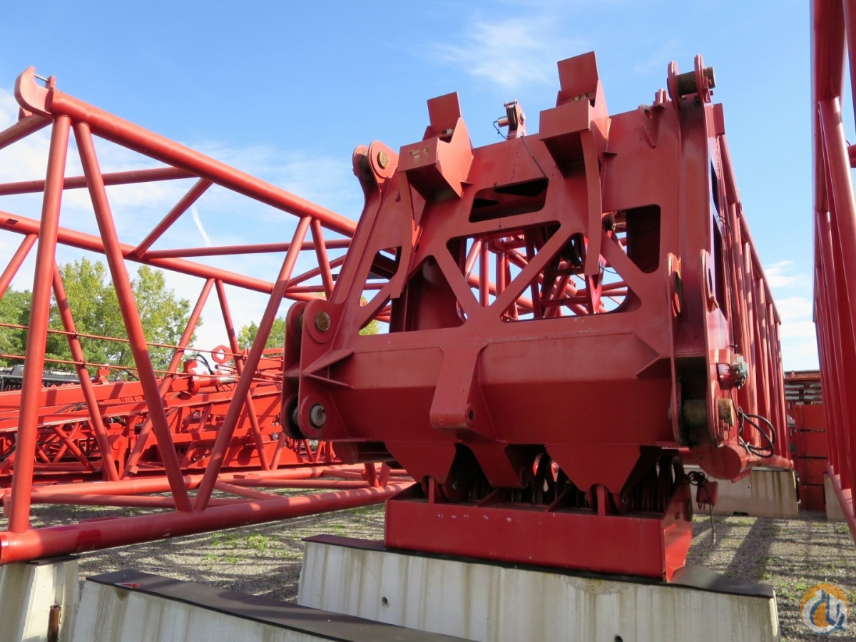 Manitowoc MAX-ER 2000 Attachment for Manitowoc 2250 Crawler Crane with Wagon Crane for Sale on CraneNetwork.com