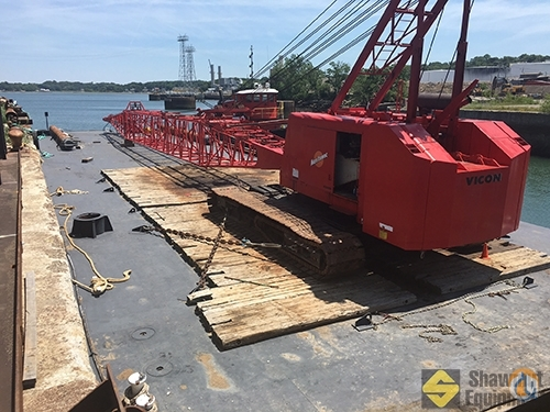 1982 Manitowoc 4100 SII Crane for Sale in Boston Massachusetts on CraneNetworkcom