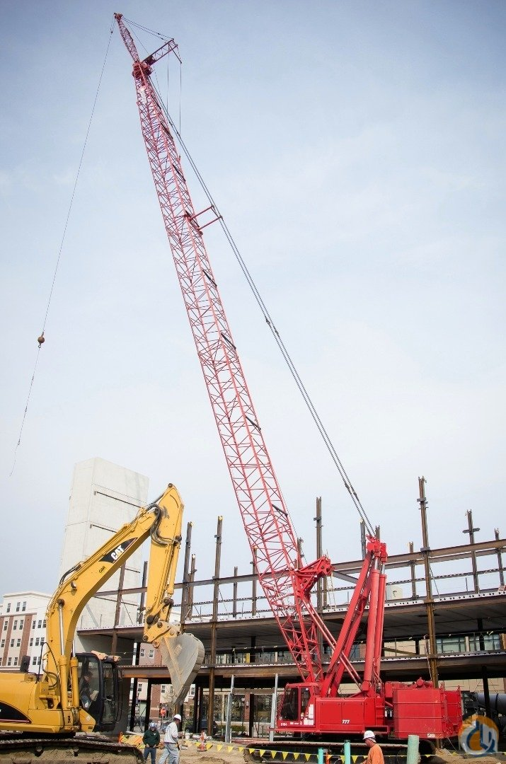 2011 MANITOWOC 777 SERIES 2 EXCEPTIONAL LOW HOURS 210 BOOM PLUS 60 JIB Crane for Sale or Rent in Philadelphia Pennsylvania on CraneNetwork.com