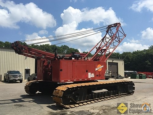 1991 Manitowoc M80W Crane for Sale in Easton Massachusetts on CraneNetwork.com
