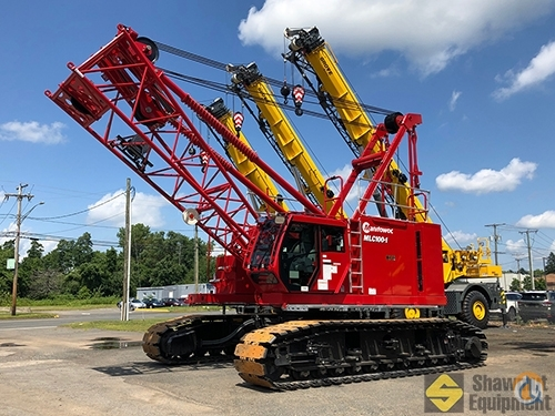 2019 Manitowoc MLC100-1 Crane for Sale in Manchester Connecticut on CraneNetwork.com