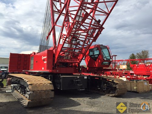 2014 Manitowoc MLC165 Crane for Sale in Manchester Connecticut on CraneNetwork.com