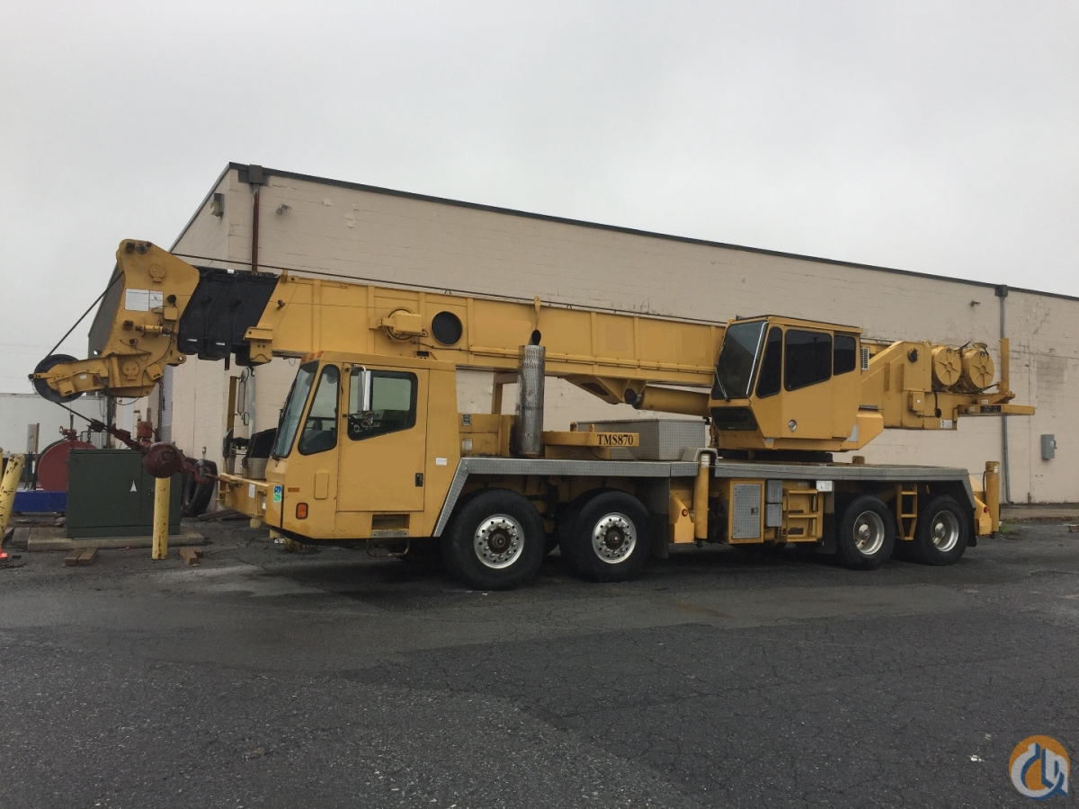1998 Grove TMS870 Crane for Sale in Harrisburg Pennsylvania on CraneNetworkcom