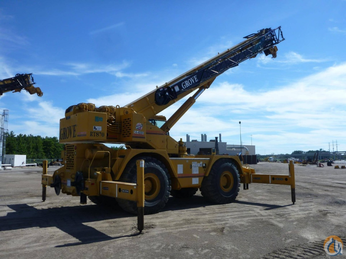 1999 Grove RT870 Crane for Sale in Houston Texas on CraneNetwork.com