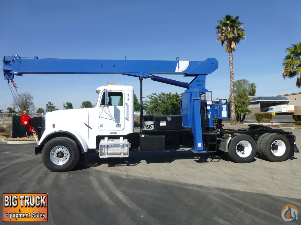 2000 Freightliner FLD120SD National 600C 17 Ton Crane Truck Crane for Sale in Norwalk California on CraneNetworkcom