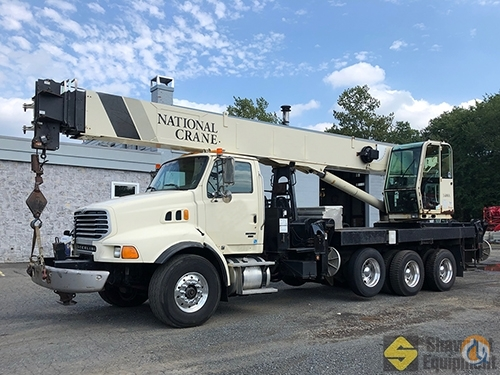 2007 National 14127A Crane for Sale in Manchester Connecticut on CraneNetwork.com