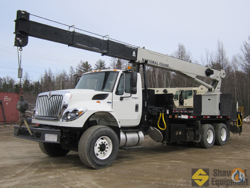 2012 National 680H Crane for Sale in Fredericton New Brunswick on CraneNetwork.com
