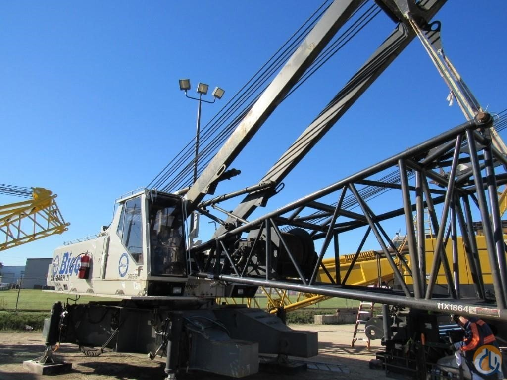 2002 LINK-BELT LS-248H II Crane for Sale in Houston Texas on CraneNetwork.com