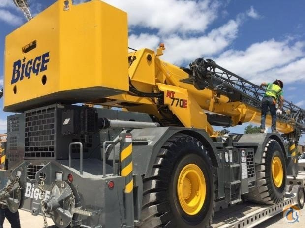 2016 GROVE RT770E Crane for Sale in Houston Texas on CraneNetwork.com