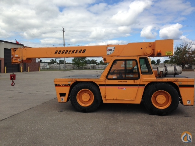 Sold Broderson Ic 200 2c Crane For In Cambridge Ontario On
