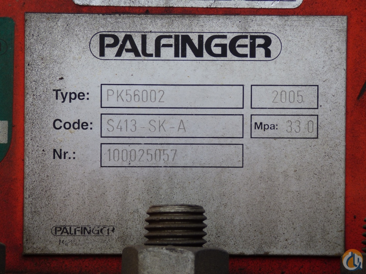 Palfinger PK 56002 D knuckle boom mounted to 2005 Kenworth T800 tractor Crane for Sale in San Marcos California on CraneNetwork.com