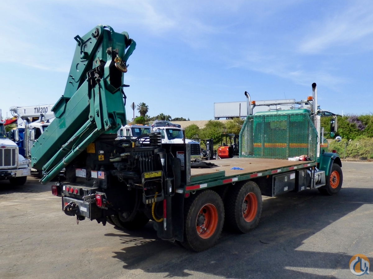 Sold Hiab 300-3 articulating crane mounted to Freightliner FLD 120S chassis Crane for  in San Marcos California on CraneNetwork.com