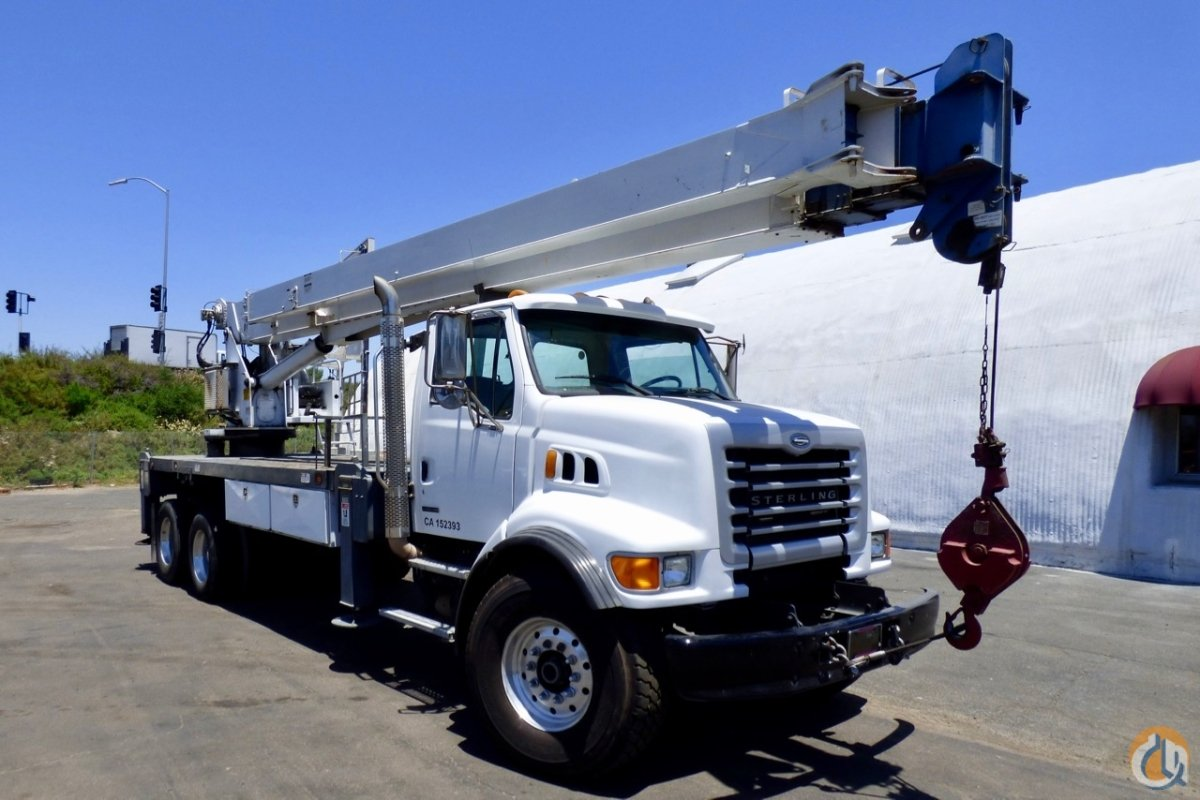 Used Manitex 28102S mounted to 2006 Sterling LT7500 chassis Crane for Sale in San Marcos California on CraneNetwork.com