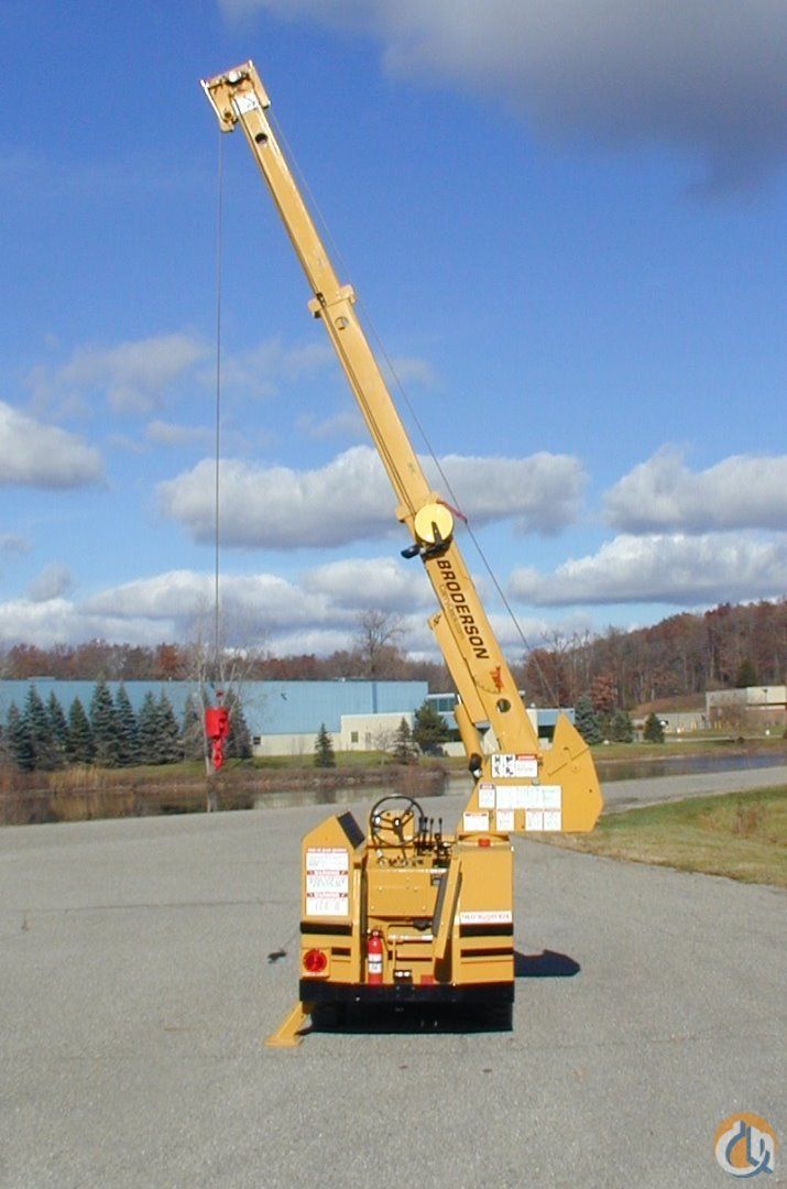 Broderson IC20-1C  Fresh Remanufacture Crane for Sale in Brighton Michigan on CraneNetwork.com