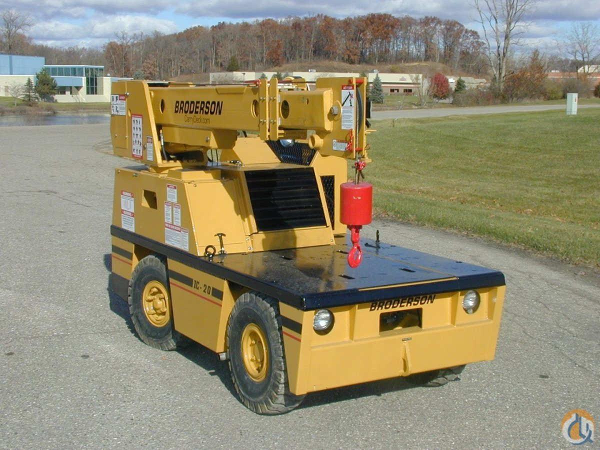 Broderson IC20-1C  Fresh Remanufacture Crane for Sale in Brighton Michigan on CraneNetworkcom