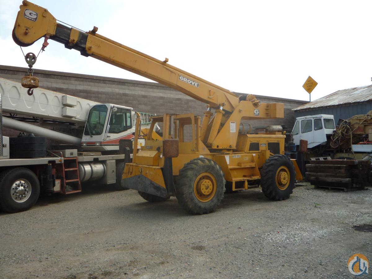 Sold Grove Rt49 10 Ton Rt Crane For In Hayward California