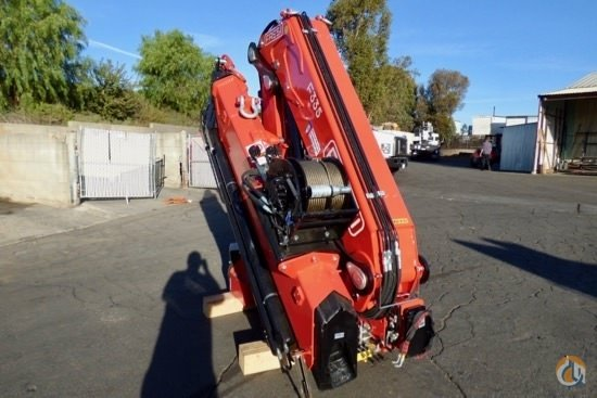 New 2018 Fassi F335A e-dynamic knuckle boom crane unmounted Crane for Sale in San Marcos California on CraneNetwork.com