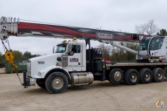 2013 Manitex TC50155S Boom Truck Crane Crane for Sale in Houston Texas on CraneNetwork.com